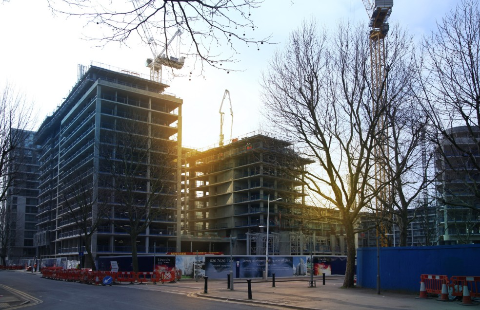 Affordable housing near Canary Wharf
