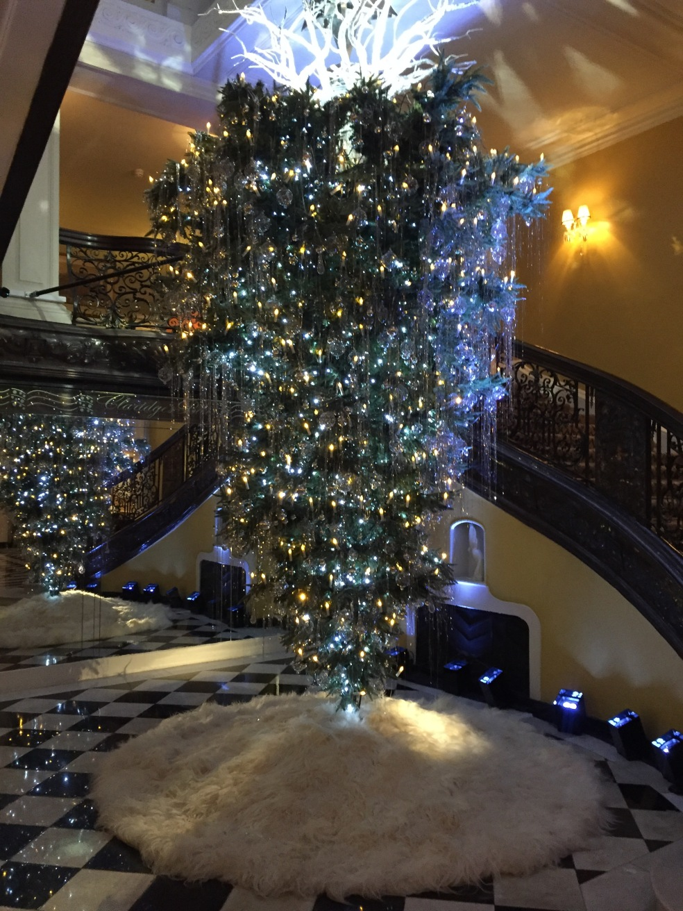 Picture of Karl Lagerfeld designed Christmas tree
